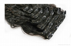 hair manufacturer clip in hair extension remy hair
