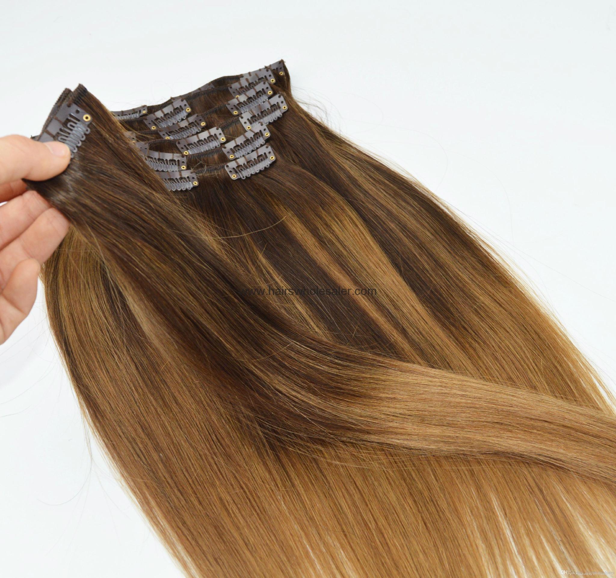 Black Women Hair Extension Fashion Style Clip Hair 60g China Manufacturer Hair Ornaments