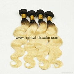 chinese hair extension virgin remy human hair ombre hair