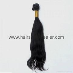 human hair weft silky st