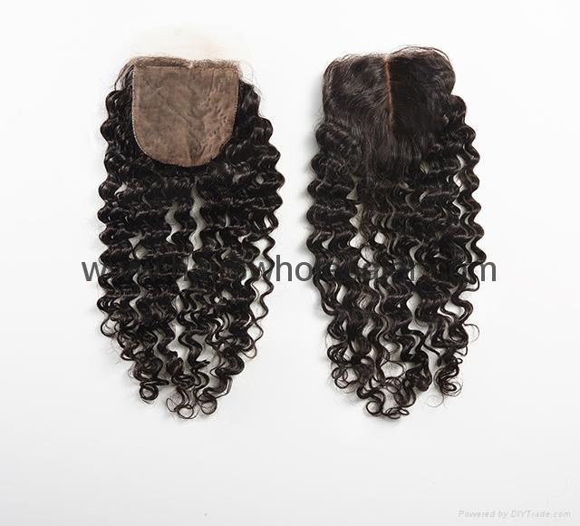 Aliexpress Hair Closure Hair Wigs Ombre Hair Silk Lacefront Closure Silk Base 5 China
