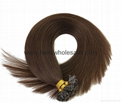 Remy hair extension 100%human hair no synthetic mix tangle free top hair