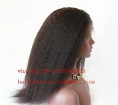 curl wave human hair wig