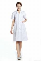 White lab coat Medical uniforms Hospital For female
