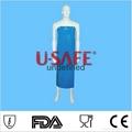elastic waterproof working safety PVC plastic  apron