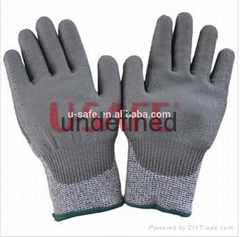13Gauge Seamless HPPE Fiber Cut Resistant Gloves for Anti Cut