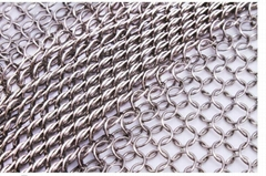 stainless steel chain mesh welded wire