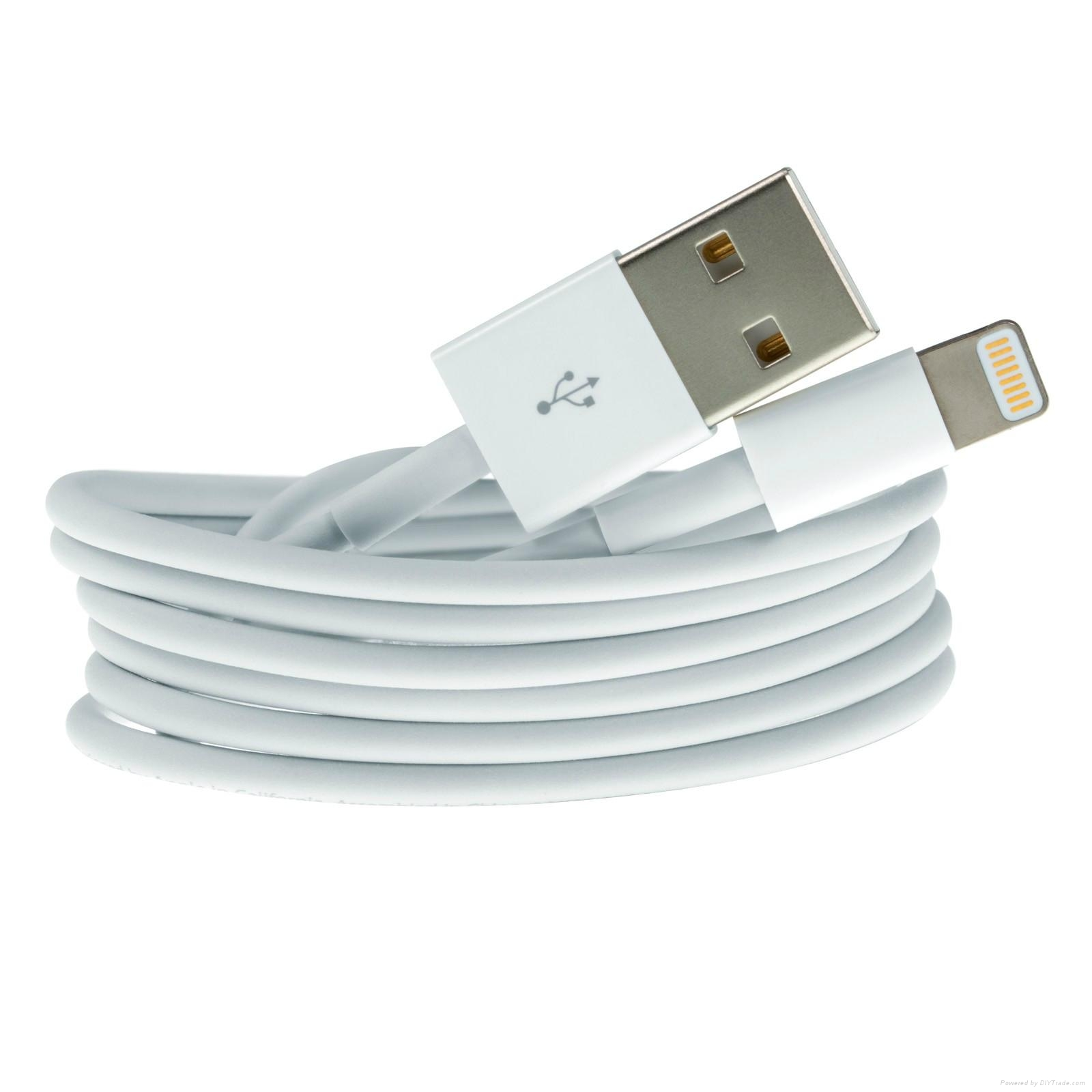 original official apple iphone 5 5s 5c lightning usb charger data cable white md818zm a. Black Bedroom Furniture Sets. Home Design Ideas