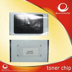 Toner chip compatible fo