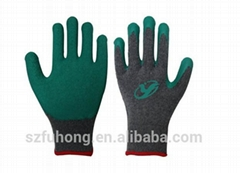 Grey nitrile coated working gloves with CE DNN328