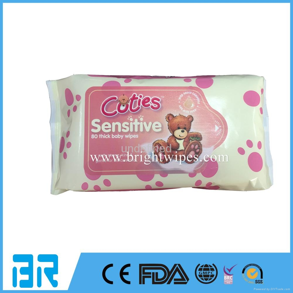 OEM OR ODM hotsell baby wipes gentle wipes,Non irritating babywipes 2