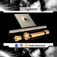 SupAnchor hot sale R32 range self drilling hollow rock anchor bolt