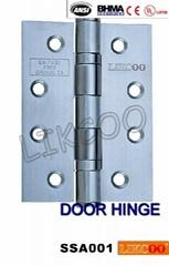 SSA001 CE EN1935 grade13 certificate door hinge stainless steel 2BB / 4BB (Hot Product - 1*)