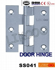 SS041 CE hot sale crank hinges OEM SUS304 stainless steel furniture hinges