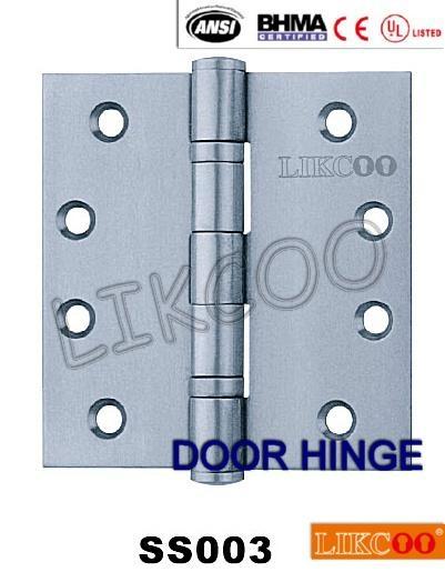 SSA001 CE EN1935 grade13 certificate door hinge stainless steel 2BB / 4BB 4