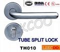 TH004 Popular lever door handle lock, split pull handle, door handles 5