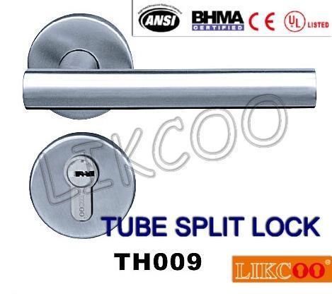 TH004 Popular lever door handle lock, split pull handle, door handles 6