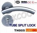 TH004 Popular lever door handle lock, split pull handle, door handles 9