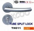 TH004 Popular lever door handle lock, split pull handle, door handles 7