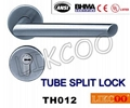 TH004 Popular lever door handle lock, split pull handle, door handles 8