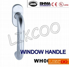 WH001 European stainless steel aluminium window handle