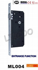 ML004 lock case, Lock Body For Security Doors ,cylinder lock, CE UL