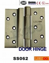 SS062 Hafele crank hinges, durable door hinge in Stainless Steel 304,OEM