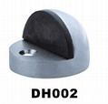Stainless steel hemisphere door stopper