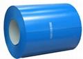 color coated steel coils bule color