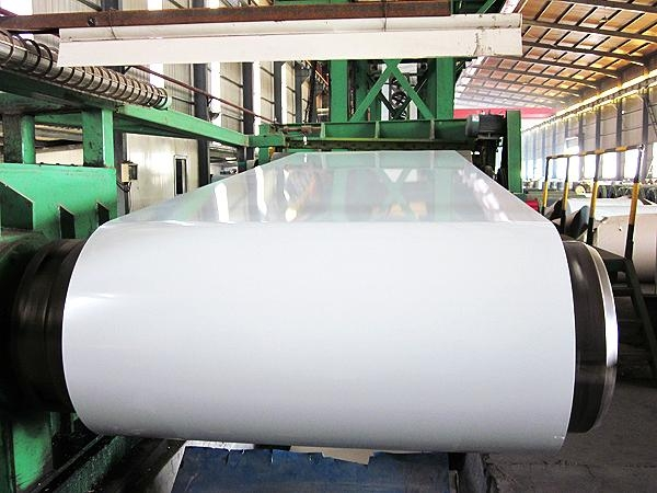 white color prepainted steel coils