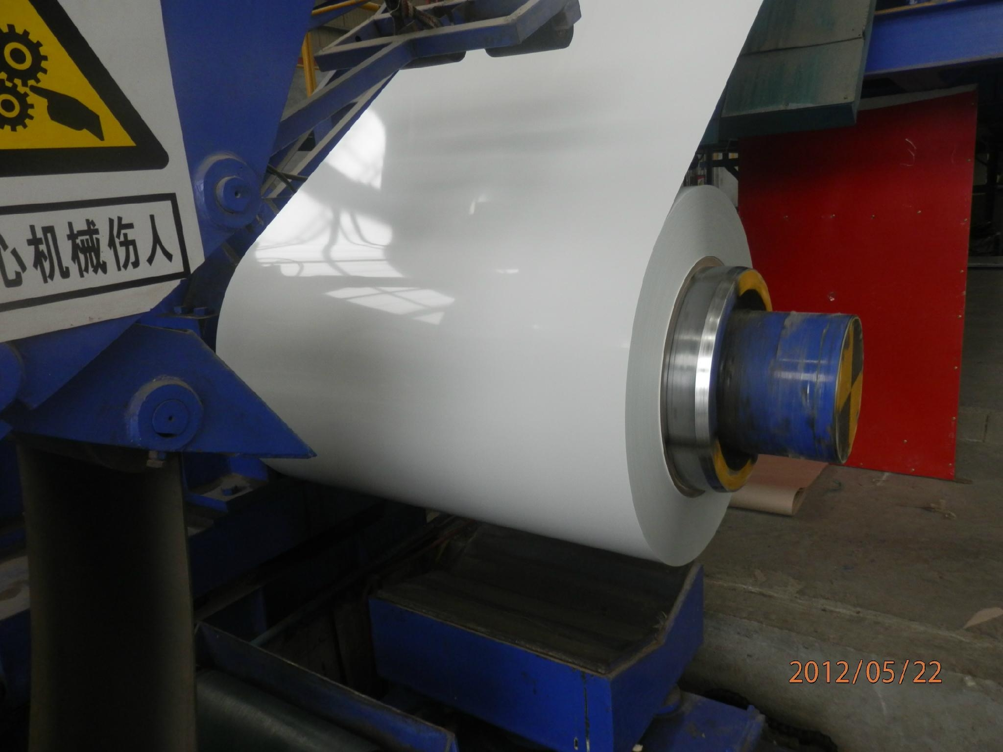 color coated galvanized steel coils RAL9016