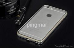 iPhone6海马扣金属边框后盖