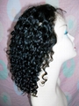Custom Short Curl Synthetic front Lace