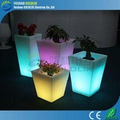 Light Flower Pot