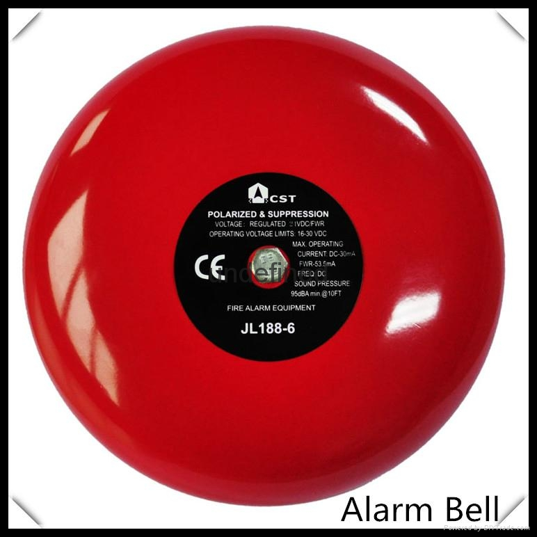 24VDC 6inch  conventional Alarm bell for fire alarm system 1