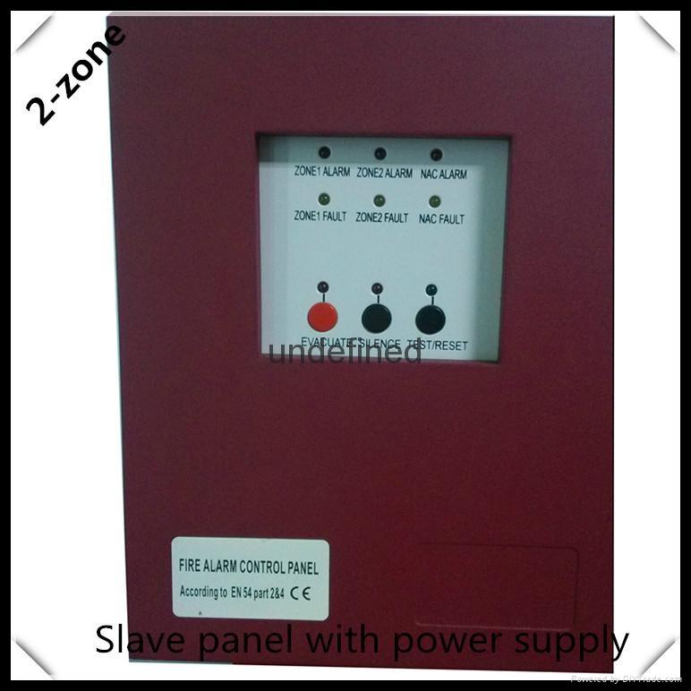 Mini conventional 2zones  fire alarm control panel 2