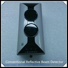Optical beam smoke detec
