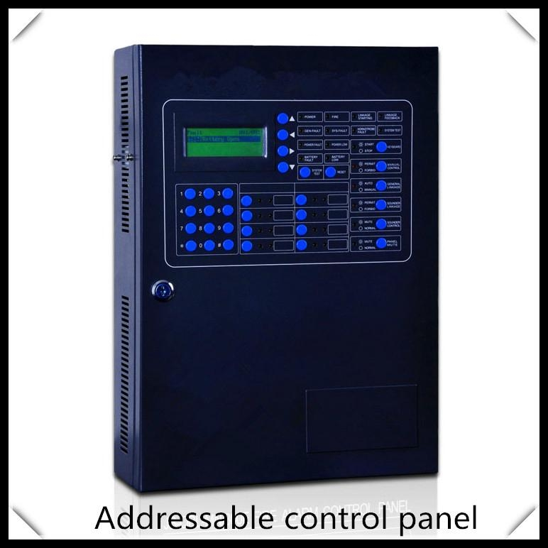Addressable  fire alarm control panel   intelligent FACP  1