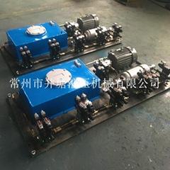 PC構件生產線布料機液壓站