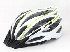 25 air vents white adult bicycle helmets