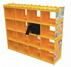Kids Schoolbag&toys Shelf