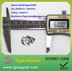 precision ndfeb magnet