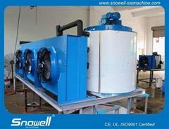 8吨水产加工片冰机