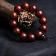 高油密金星紫檀木質文玩手串