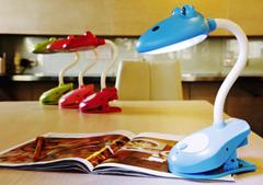 Colorful led desk reading lamp