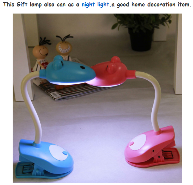 Colorful led desk reading lamp  2