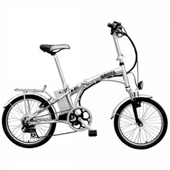 Convenient to Carry Electric Folding Bike with 36V Lithium Battery