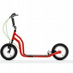 Hi-Ten Steel Frame Color FOOT Scooter with Original Design