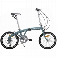 wonderful shape folding bike with alloy frame