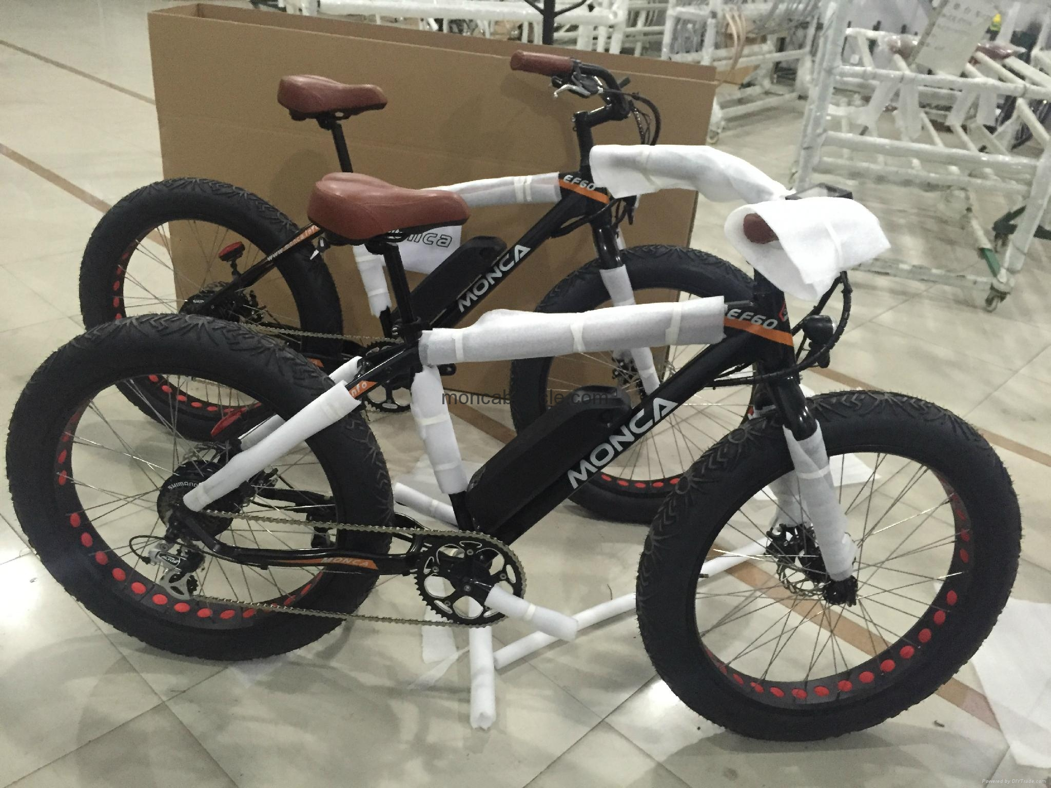 fat tyre electric bike with ce approval ef60 monca. Black Bedroom Furniture Sets. Home Design Ideas